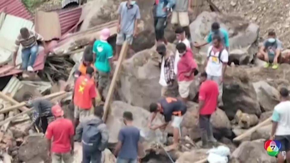 อินโดนีเซีย เร่งค้นหาผู้สูญหายจากน้ำท่วมหนักทั่วประเทศ