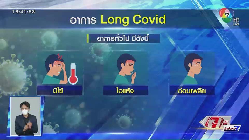 ตีตรงจุด : ภาวะ ลองโควิด อาการคงค้างหลังติดเชื้อโควิด-19