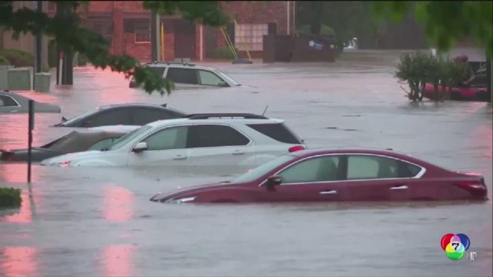 กู้ภัยสหรัฐฯ เร่งช่วยเหลือผู้ประสบภัยพายุทอร์นาโด