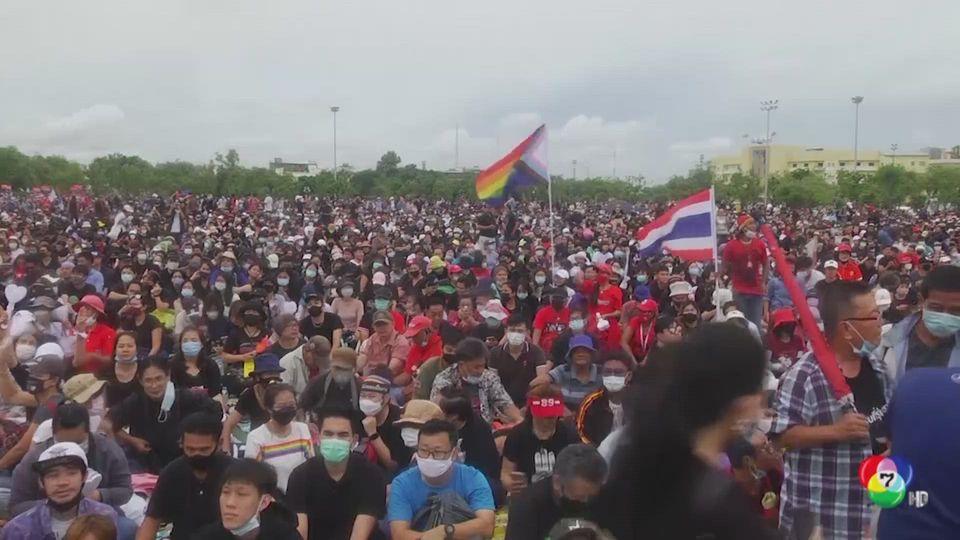 สื่อต่างชาติรายงานข่าวการชุมนุมในประเทศไทย