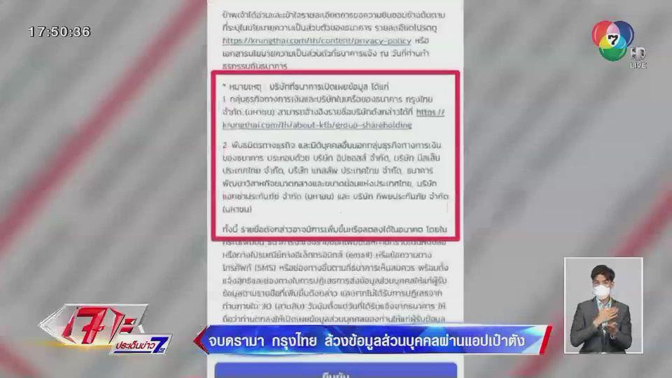 ธนาคารกรุงไทย เร่งชี้แจงหลังเกิดกระแสดรามา กรณีผู้ใช้งานแอปพลิเคชันเป๋าตัง