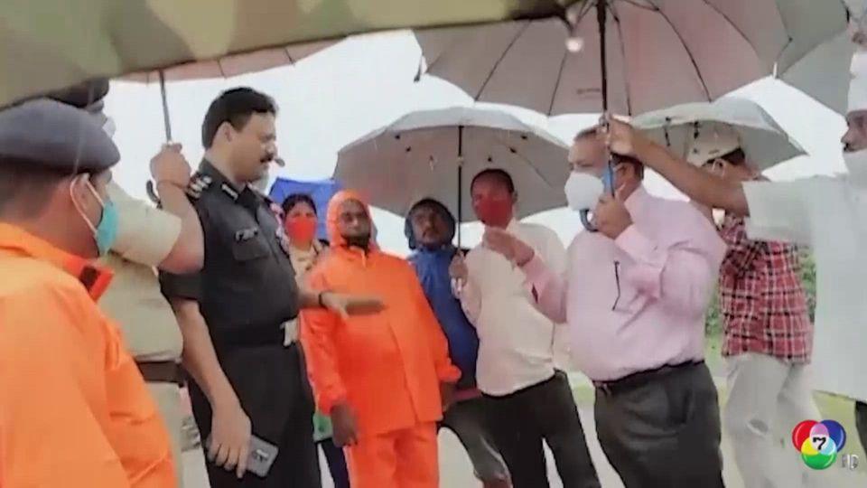 อินเดียสั่งอพยพประชาชนนับแสนคน รับมือพายุไซโคลนกุหลาบ