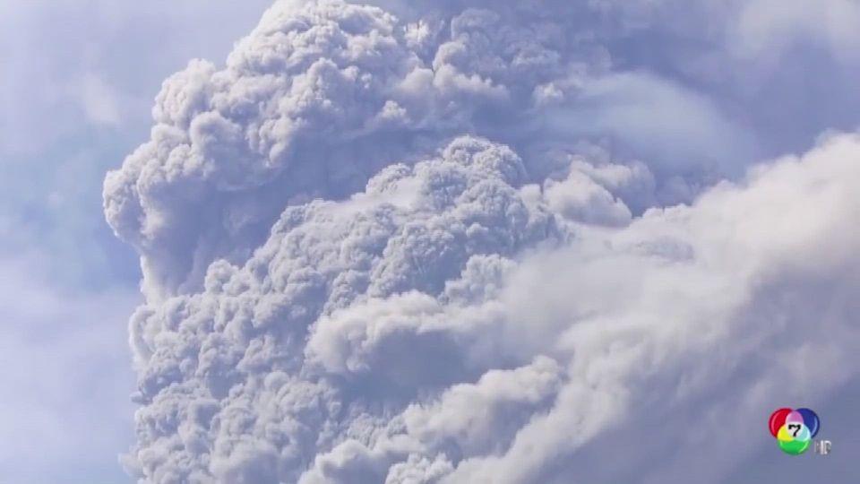 ภูเขาไฟเกาะเซนต์วินเซนต์ปะทุ พ่นเถ้าถ่าน