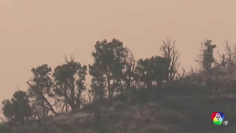 เจ้าหน้าที่เร่งอพยพประชาชนหนีไฟป่ารุนแรง ในสหรัฐฯ