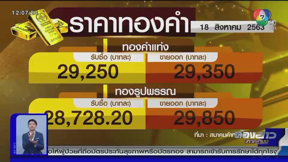 ราคาทองเปิดตลาดพุ่งพรวดบาทละ 600 บาท สอดคล้องกับราคาในตลาดโลก