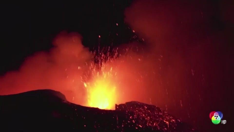 ภูเขาไฟเอตนา ปะทุรุนแรงในอิตาลี
