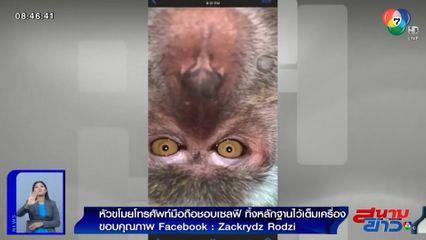 ภาพเป็นข่าว : หัวขโมยโทรศัพท์มือถือ ชอบเซลฟี ทิ้งหลักฐานไว้เต็มเครื่อง!