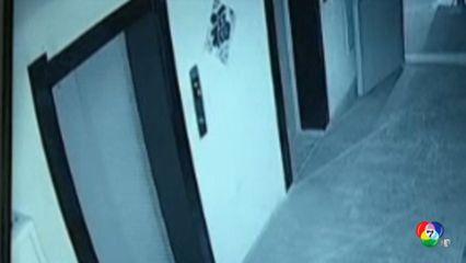 เผยภาพอาคารที่พักอาศัยระเบิดในเมืองมู่ตันเจียง ของจีน