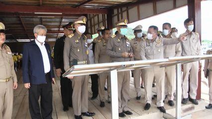 องคมนตรี ติดตามและขับเคลื่อนโครงการอันเนื่องมาจากพระราชดำริ จังหวัดกาญจนบุรี