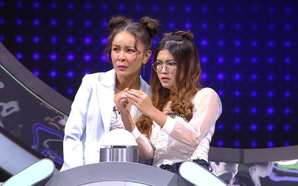 """""""น้อยหน่า บังอร – แพม สุชานุช"""" สาวสวย 2 ภาค ดวลเกมลุ้นเงินใน """"แหวน 5 ท้าแสน"""" สนุกแน่แต้ อีหลีเจ้า!!"""