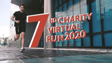 7HD Charity Virtual Run 2020 ขั้นตอนการสมัครวิ่ง และวิธีการส่งผลวิ่งเพื่อสะสมระยะทาง