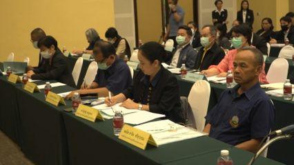 องคมนตรี เป็นประธานการประชุมเชิงปฏิบัติการการจัดทำแผนปฏิบัติการของหน่วยงานในพื้นที่ศูนย์พัฒนาโครงการหลวง ประจำปี 2564 ที่จังหวัดเชียงใหม่