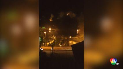 แก๊งโจรบราซิลปิดเมือง บุกปล้นธนาคาร-จับตัวประกัน