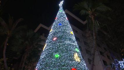 ผู้แทนพระองค์ ไปในพิธีเปิดไฟประดับต้นคริสต์มาส ประจำปี 2563