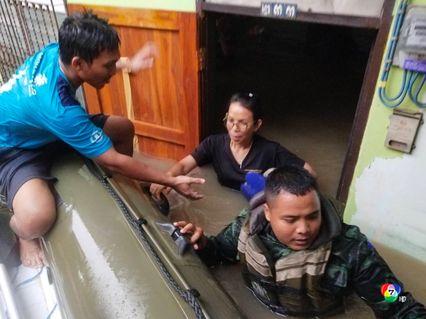 ผบ.ทบ.ส่งทหารช่วยน้ำท่วมภาคใต้ ตั้งศูนย์อพยพชั่วคราวพร้อมอยู่ดูแลให้ความปลอดภัย คาดคลี่คลายใน 7 วัน