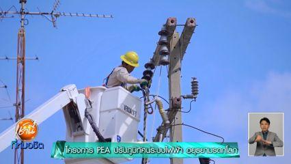 เช้านี้เพื่อสังคม : โครงการ PEA ปรับภูมิทัศน์ระบบไฟฟ้า อยุธยามรดกโลก
