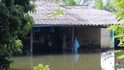 น้ำท่วมสุราษฎร์ฯ ยังอ่วมหนักบางจุดน้ำยังสูง 3 เมตร