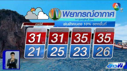 ฝนฟ้าอากาศ 13 ก.พ.64