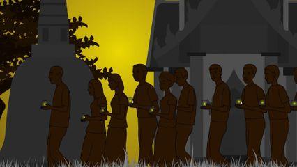 สารคดีพุทธศาสนศรัทธา ตอนมาฆบูชาในประเทศไทย