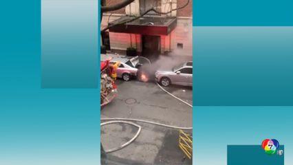 ระทึก! ท่อระบายน้ำระเบิดในนครนิวยอร์ก บาดเจ็บอย่างน้อย 3 คน
