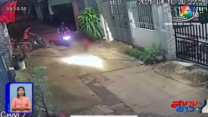 ภาพเป็นข่าว : เด็ก 3 ขวบวิ่งตัดหน้ารถ จยย.โดนชนแขนหัก