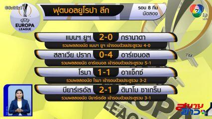 แมนฯ ยูไนเต็ด อัด กรานาดา 2-0 ลิ่วตัดเชือก ยูโรปา ลีก ปะทะ โรมา