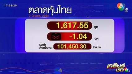 ตลาดหุ้นไทย - ราคาทอง 2 มิ.ย.64
