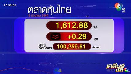 ตลาดหุ้นไทย - ราคาทอง 8 มิ.ย.64
