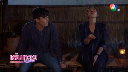 เบื้องหลังฉาก ธันวา - ทับทิม ติดกระท่อมกลางฝนด้วยกัน ในละคร หลงกลิ่นจันทน์