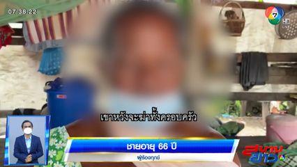 ชายอายุ 66 ปี โร่แจ้งความ เพื่อนบ้านบุกทำร้าย ขู่ฆ่ายกครัว