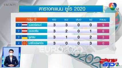 เนเธอร์แลนด์ ฟอร์มดี! ถล่ม มาซิโดเนียเหนือ 3-0 / ออสเตรีย เฉือน ยูเครน 1-0 ศึกยูโร 2020