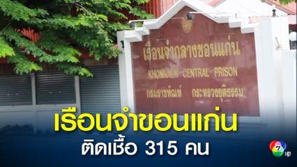 นักโทษเรือนจำกลางขอนแก่นติดโควิด 315 คน สั่งปิดแดนต้องขัง 1-2 เตรียมใช้เรือนจำพลเป็นโรงพยาบาลสนาม