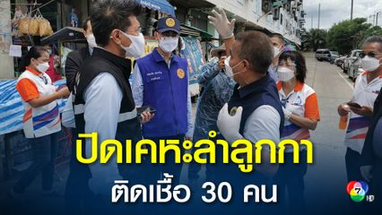 ปิด 7 วัน เคหะลำลูกกาคอนโด ตรวจ 100 คน พบติดเชื้อ 30 คน