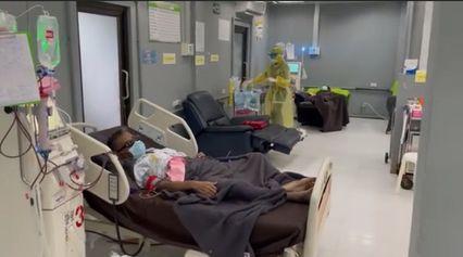 """ผอ.รพ.พิสัยเวช คุมเข้มคัดกรองโควิด ผู้ป่วยไตวายที่มาฟอกเลือดด้วยเครื่องไตเทียม ลั่น! """"โควิดก็กลัว แต่ผู้ป่วยไตวายต้องรอด"""""""